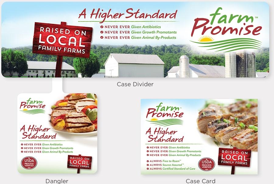 Store marketing graphics