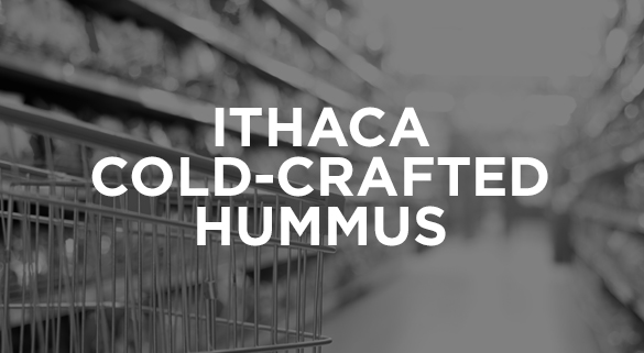 011: ITHACA COLD-CRAFTED HUMMUS