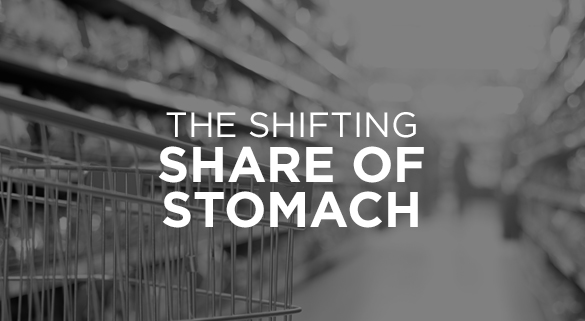 014: THE SHIFTING SHARE OF STOMACH
